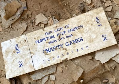 our lady of perpetual help church charity games ticket