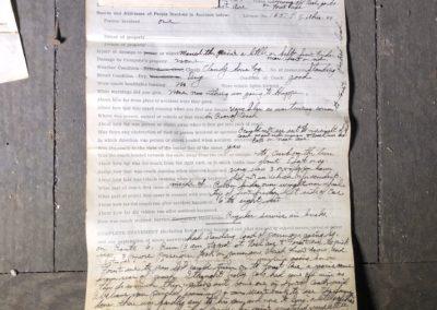 1944-streetcar-coach-accident-paperwork
