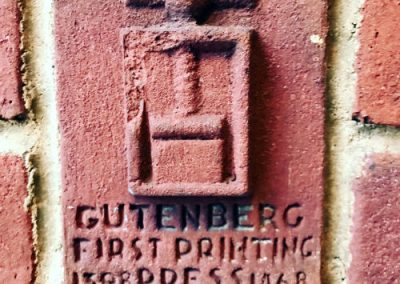 Gutenberg Printing Press Brick