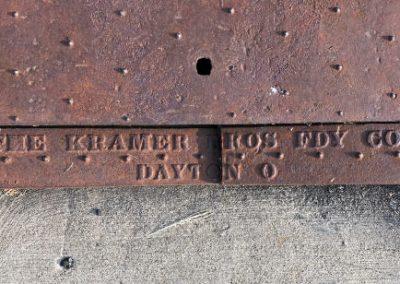 Kramer Bros Sewer Grate