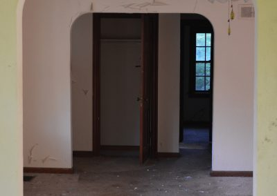 Abandoned Farm Neighborhood Ohio Hallway
