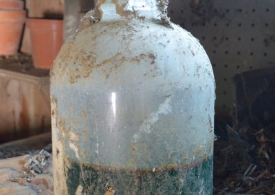 Abandoned Farm Neighborhood Ohio Vintage Glass Jug