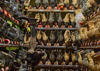 roller skate storage room
