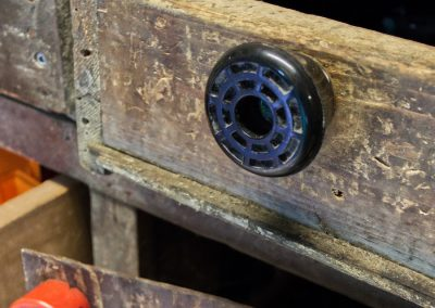 roller skate maintenance cabinets