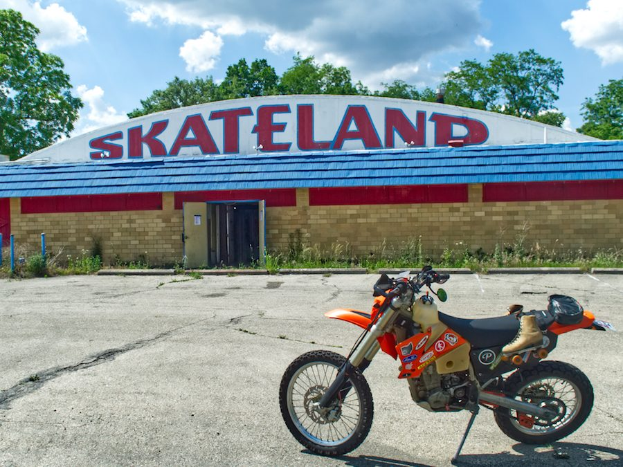 Exploring Skyborn Skateland and Drive-In | Abandoned in Fairborn, Ohio