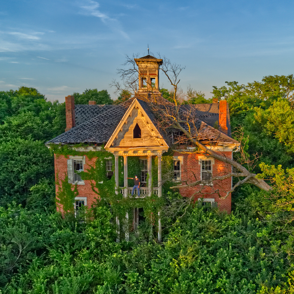 ABANDONED 1860s Victorian Mansion