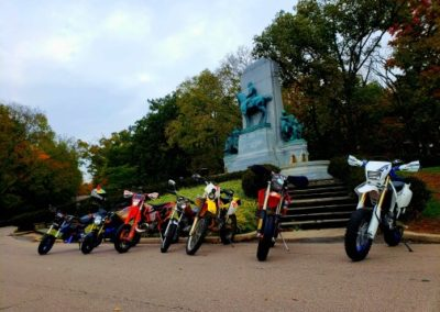 2018 Halloween Supermoto Grom Ride Patterson Monument
