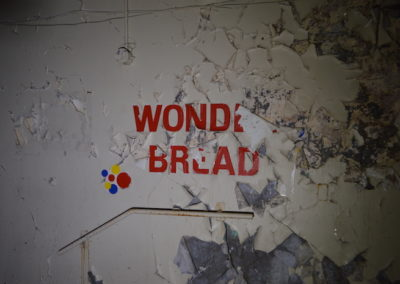 Abandoned Wonder Bread Logo