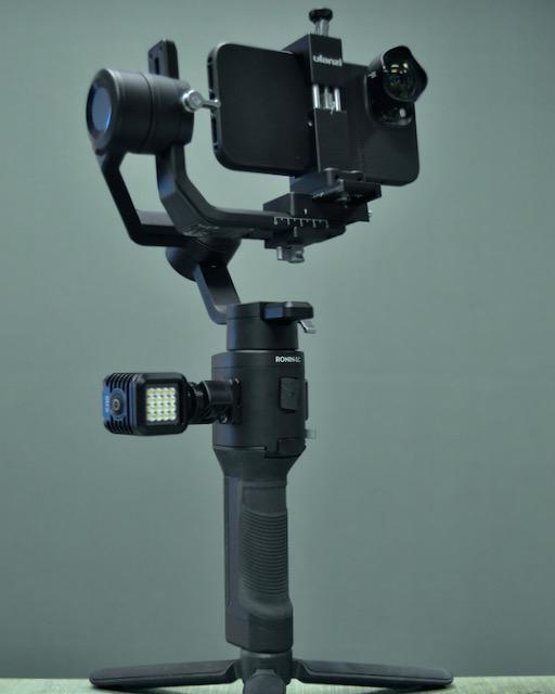 iphone 12 pro max ronin sc gimble setup