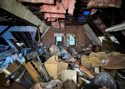 abandoned attic early 1900s house