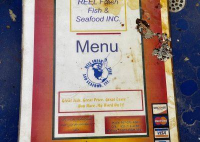 reel fresh fish abandoned restaurant ohio