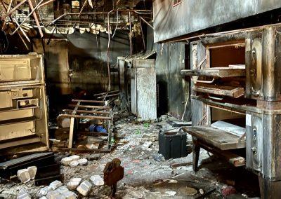 ivy club restaurant fire dayton kitchen