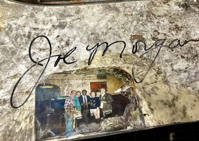 joe morgan autograph fire ivy lounge