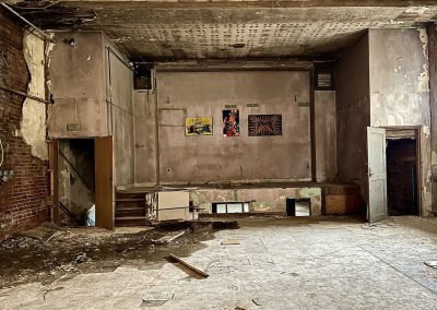 abandoned theater stage dayton ohio