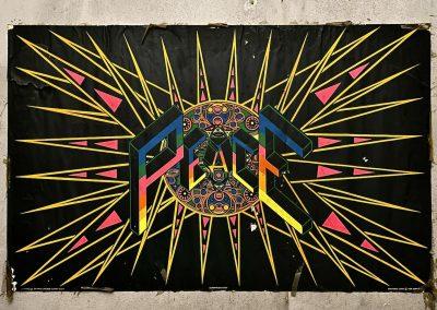 super peace poster 61007 night neon