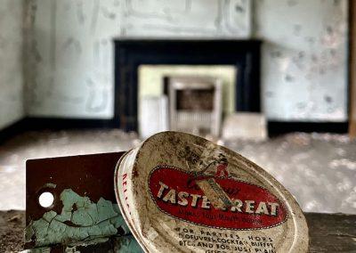 tastetreat vintage tin