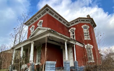 Exploring an Abandoned 1881 Victorian Home | A Red Brick Masterpiece