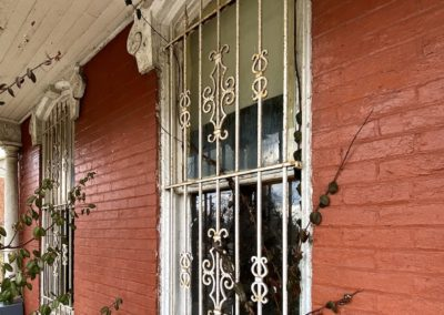 victorian style house abandoned front dayton windows bars