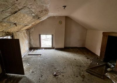 victorian style house abandoned attic
