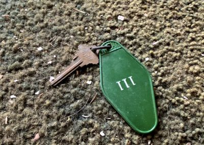 victorian style house abandoned room key