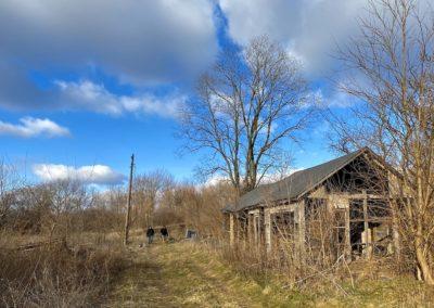 abandoned barn ohio driveway