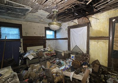abandoned colonial house dinning room 1905