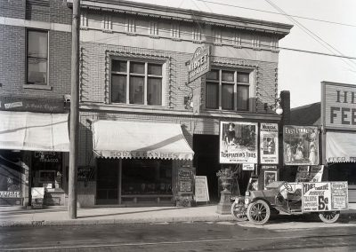 midget theater front right vintage car dayton ohio