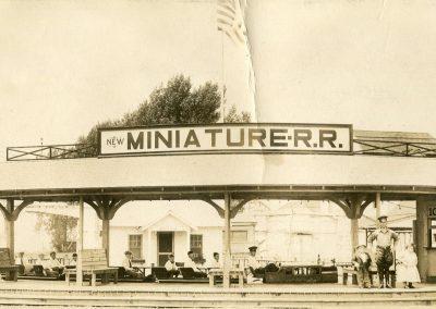 miniature rr railroad celoron park