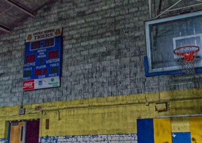 abandoned scoreboard