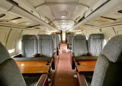 abandoned-1st-class-bac-111-airplane-seat-rows
