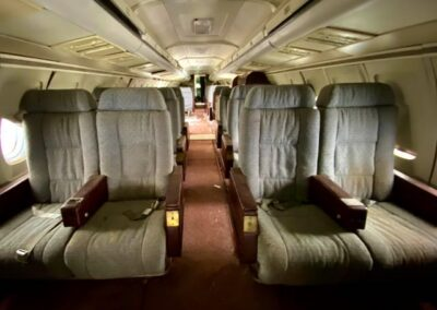 abandoned-bac-111-airplane-seat-rows