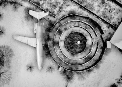abandoned-airplane-graveyard-in-the-snow-aerial