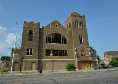 abandoned calvary presbyterian church detroit
