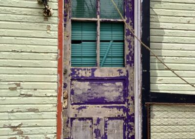 purple-door-paint-pealing