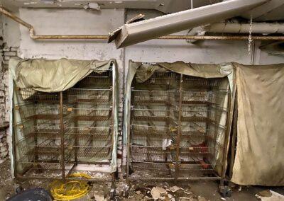 storage-carts-abandoned-house