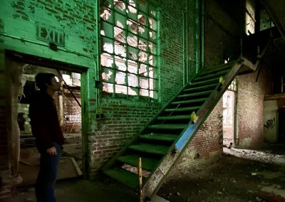 abandoned-factory-stairs-green
