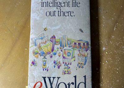 vintage apple eworld pamphlet front