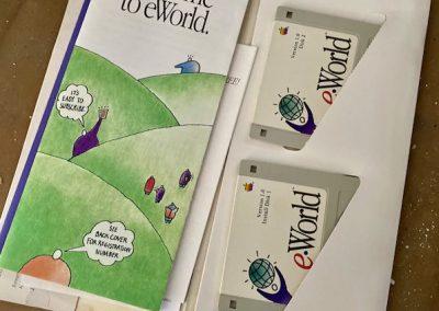 vintage apple eworld pamphlet