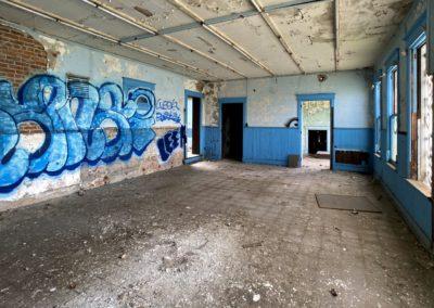 abandoned-train-station-blue-walls