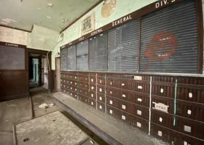 abandoned-trolley-scheduling-board