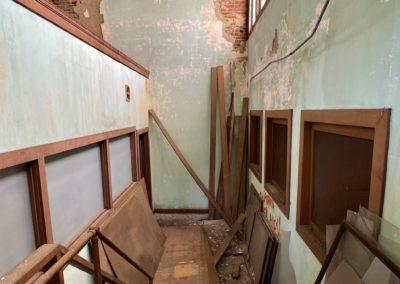 abandoned-trolley-station-ohio-green-hallway