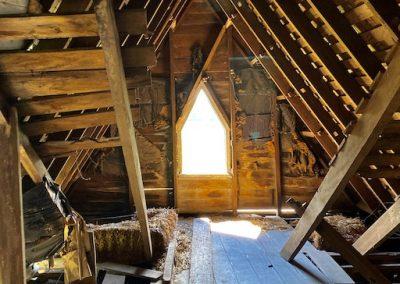 abandoned victorian mansion attic