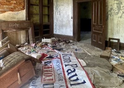 abandoned victorian mansion ron paul