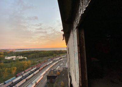 cargill s grain elevator roof