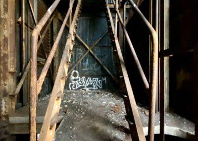 cargill s grain elevator stairs