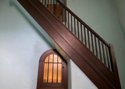 secret door under the stairs creepy