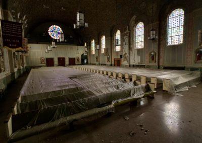 forgotten church sanctuary