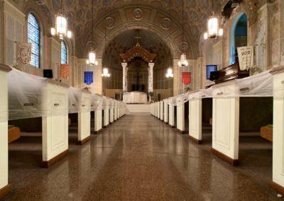 abandoned ohio church sanctuary center
