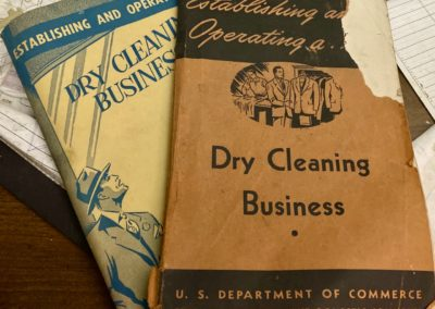 establishing and operating a dry cleaning business