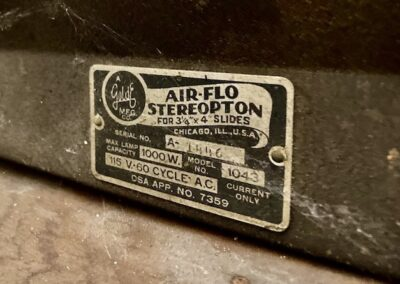 air-flo-stereoption-chicago-reel-holder